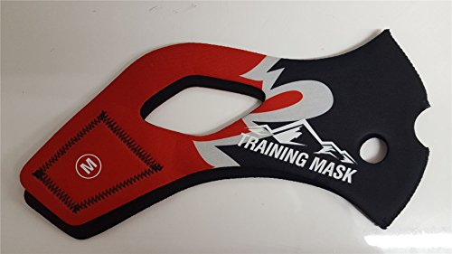 Elevation Training Mask 2.0Red Flame Sleeve -