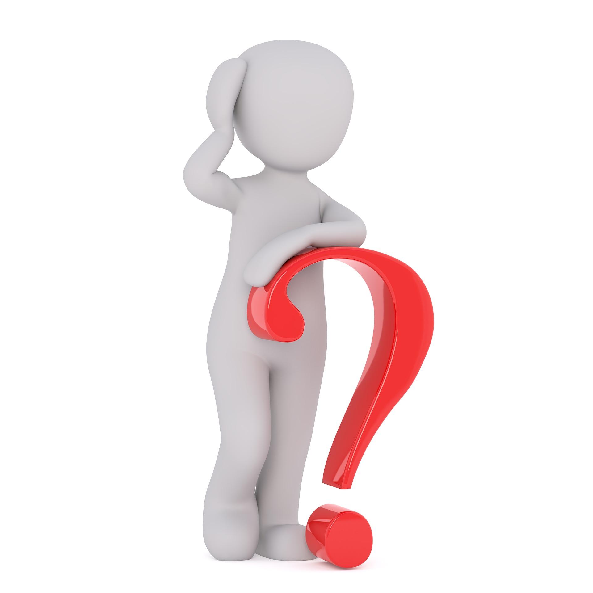 Trainingsmaske Test - Question
